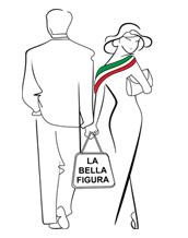 La Bella Figura Logo - malé