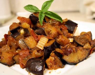 Caponata – zeleninová pochoutka ze slunné Sicílie