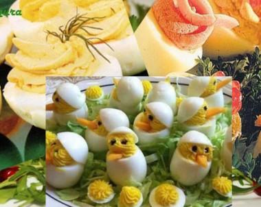 Plněná vejce – velikonoční recepty
